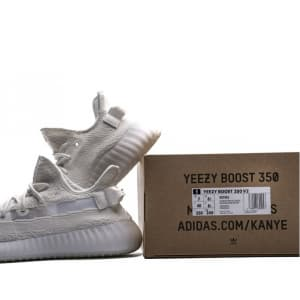 Adidas Yeezy Boost 350 V2 Static Triple White (36-45) код:303
