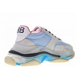 Balenciaga Triple S Blue Clear Sole (36-40) Код:315