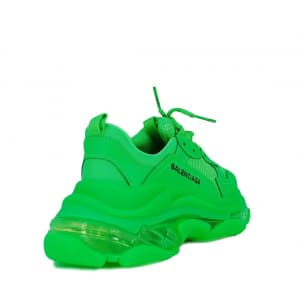 Balenciaga Triple S Clear Sole «прозрачная подошва» Green (36-40) Код:323